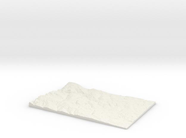 Leeds and Bradford W410 S425 E440 N445 in White Natural Versatile Plastic