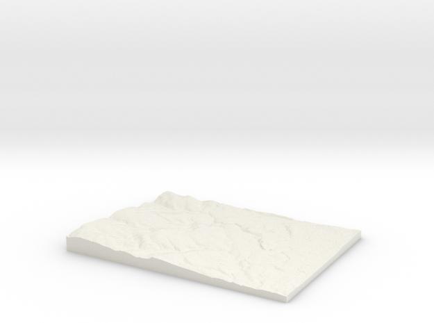 Harrogate W424 S450 E440 N462 in White Natural Versatile Plastic