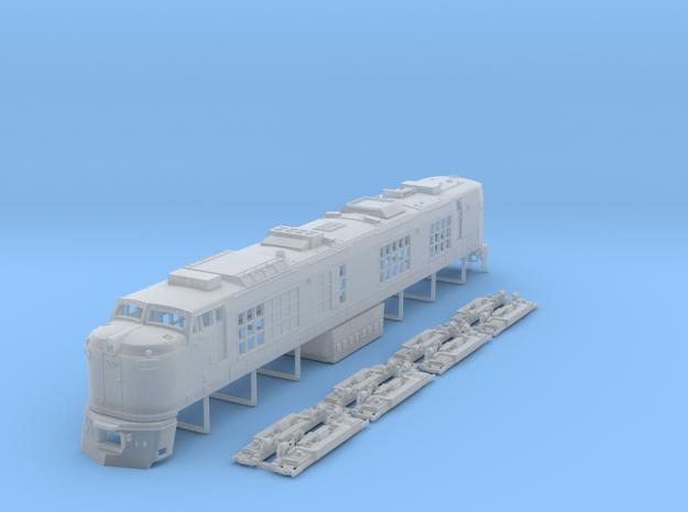N Scale Propane Turbine locomotive in Smooth Fine Detail Plastic