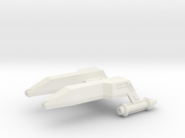 3125 Scale LDR Destroyer (DD) CVN in White Natural Versatile Plastic