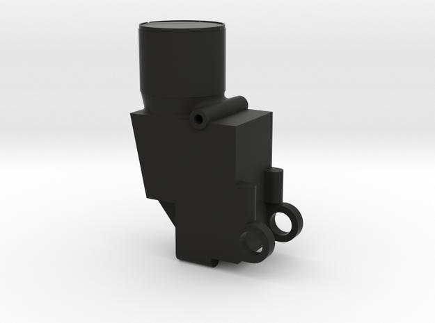 N2 Gunsight in Black Natural Versatile Plastic