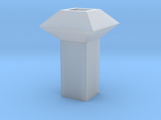 Dachlüfter 1 modern 1:120 in Smooth Fine Detail Plastic