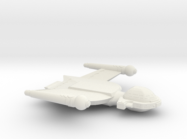 3125 Scale Romulan Condor+ Dreadnought MGL in White Natural Versatile Plastic