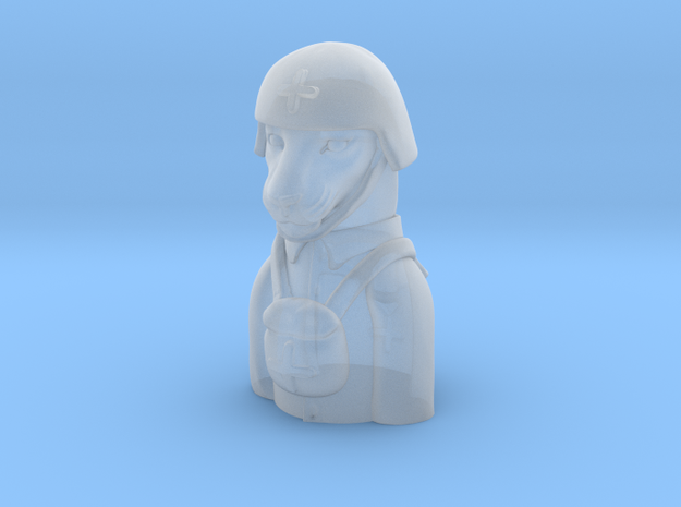 Leopard medic Pandemic Pawn in Smooth Fine Detail Plastic