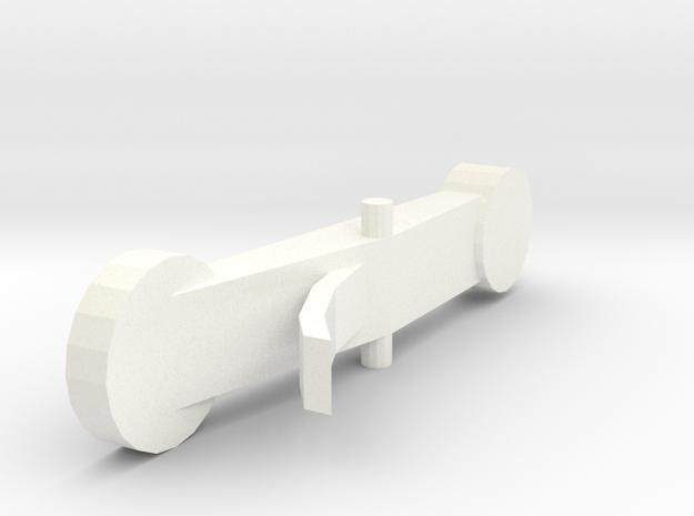 MIM2609 Rottenburgh baroque oboe - Eb key in White Processed Versatile Plastic