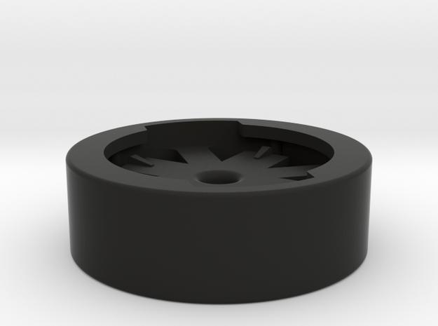 Garmin Double-Sided Socket in Black Natural Versatile Plastic