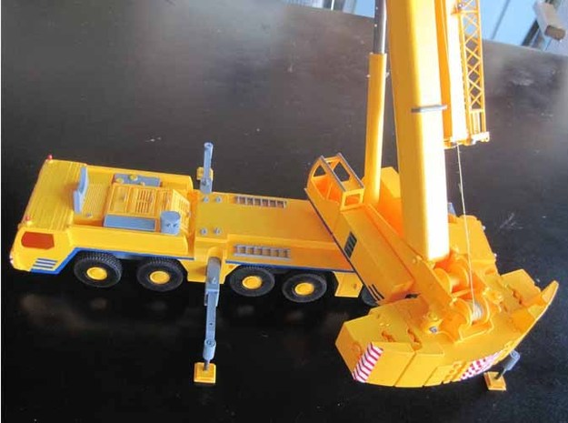 LTM 1250-6-1 Counterweight 1:50 3d printed Add a caption...
