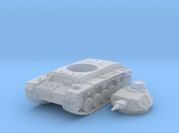 1/160 German Durchbruchswagen 2 Heavy Tank in Smoothest Fine Detail Plastic