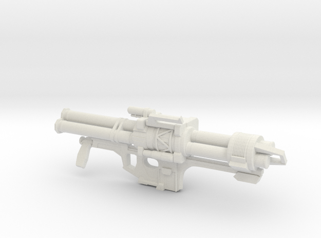 Halo Reach Rocket Launcher in White Strong & Flexible