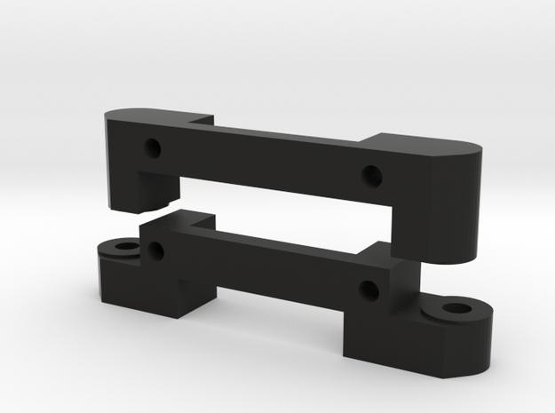 lower arm mounts: long wheelbase in Black Strong & Flexible