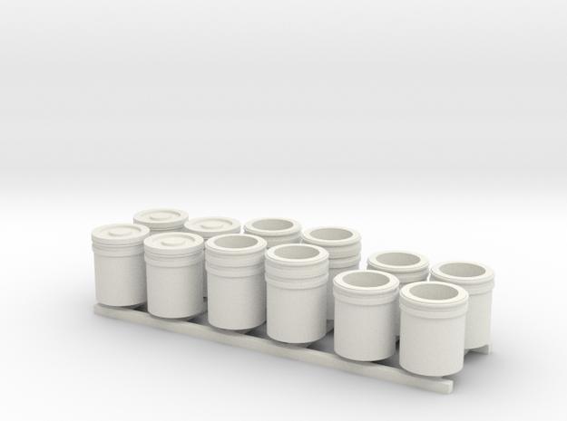 1:50 5 Gallon buckets Pack of Twelve.