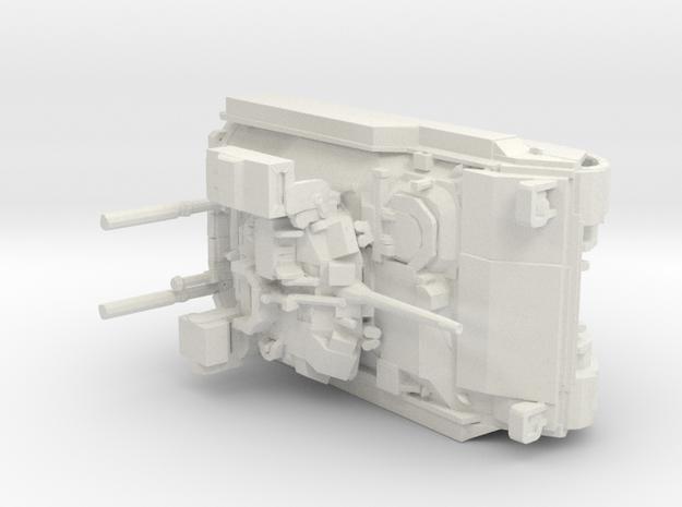 Bradley v1 1:87 scale in White Natural Versatile Plastic