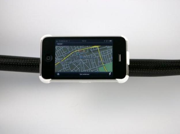 iPhone 3G / 3GS bike mount in White Natural Versatile Plastic