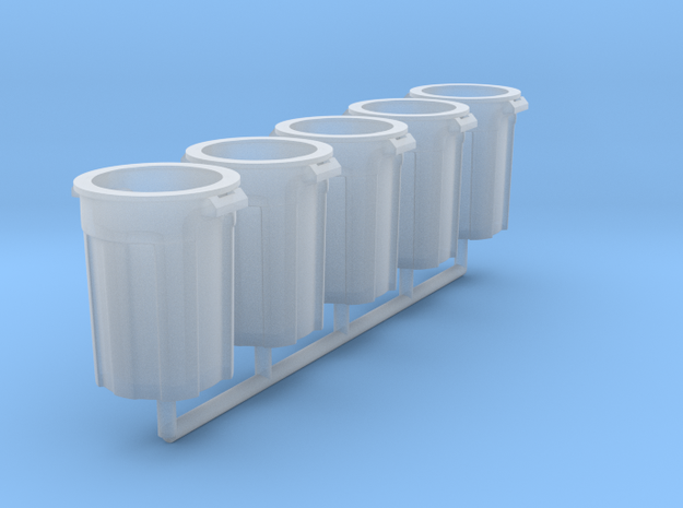 1/64 Trash Can in Smooth Fine Detail Plastic