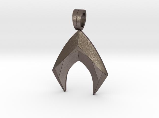 Aquaman Pendant in Stainless Steel