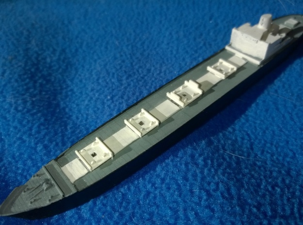 MV Gaasterdijk 1/1250 scale in Frosted Ultra Detail