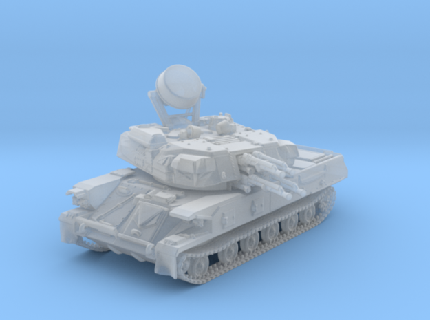 1/120 (TT) Russian ZSU-23-4 (Shilka) SPAAG in Smooth Fine Detail Plastic