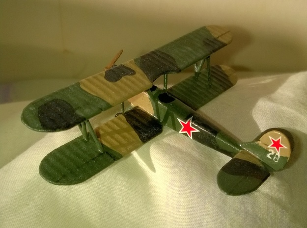 Polikarpov PO-2 1/144 or 1/100 in White Natural Versatile Plastic: 1:144