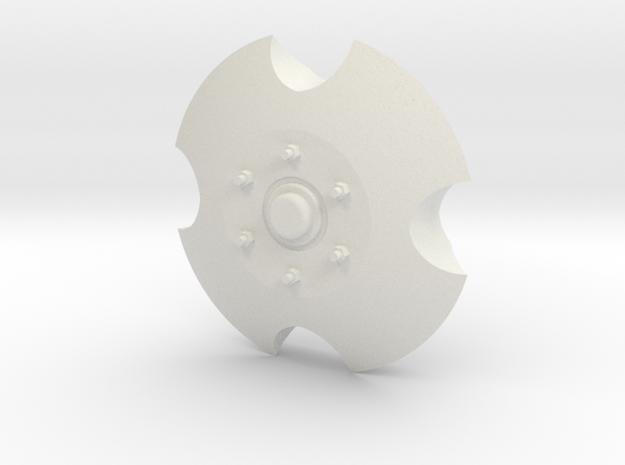 Sd.Ah 24 wheel cover in White Natural Versatile Plastic