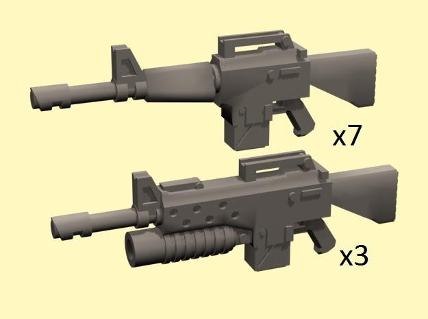 28mm NAM16 Assault Rifles (10)