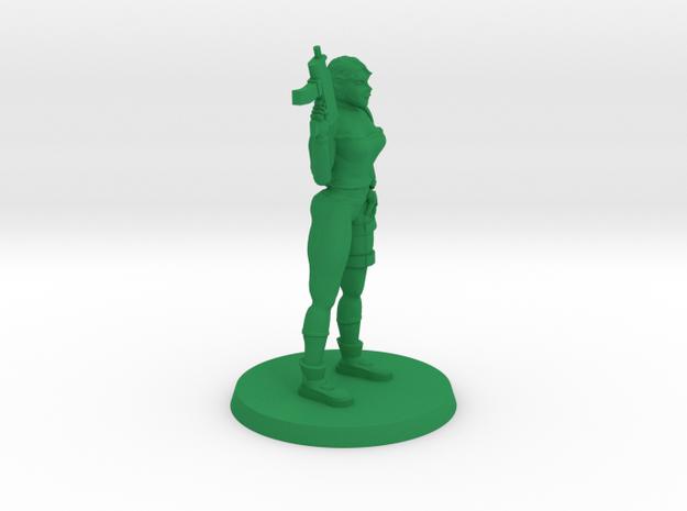 36mm Veronica Zombie Hunter in Green Processed Versatile Plastic
