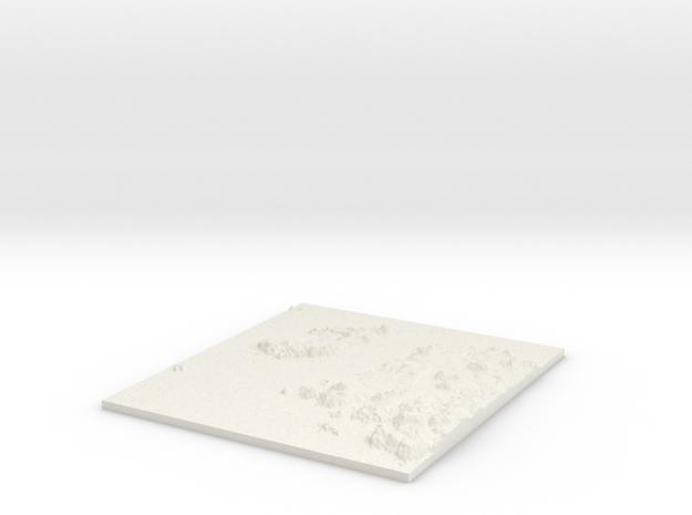 Iona W124 S716 E134 N727 in White Natural Versatile Plastic