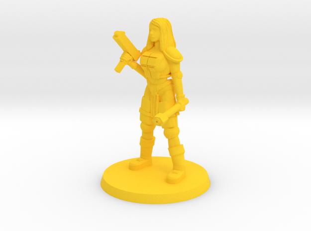 Raider Bree  in Yellow Processed Versatile Plastic