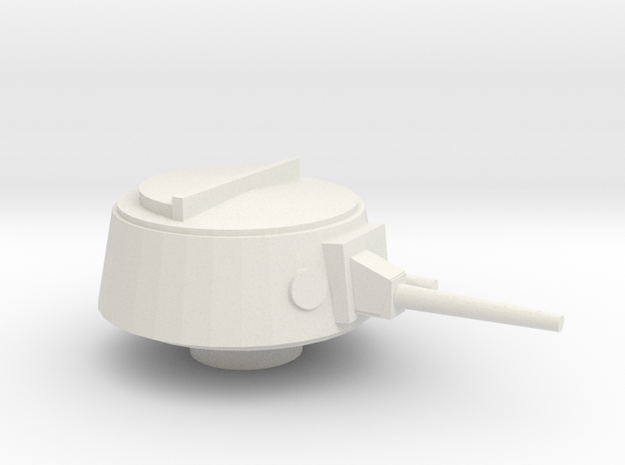Ka-Mi Turret 15mm - 1/100 in White Strong & Flexible