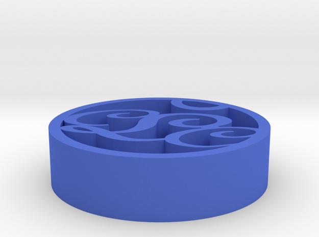 Crazy Lady Club in Blue Processed Versatile Plastic