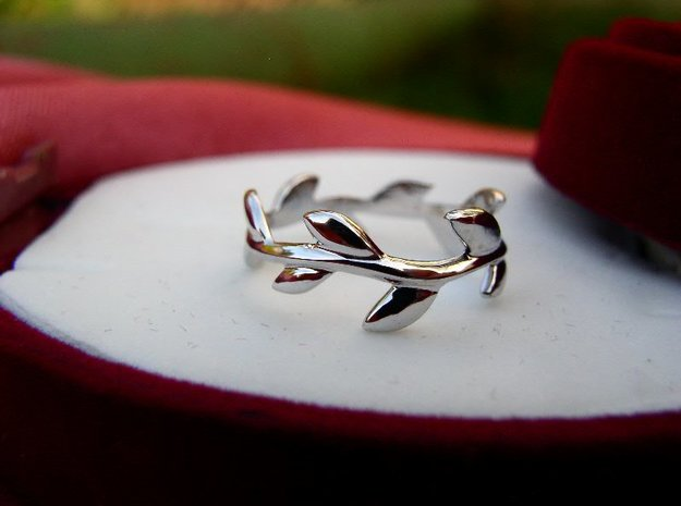 Willow ring (Tiffany inspired) in Natural Silver: 5.25 / 49.625
