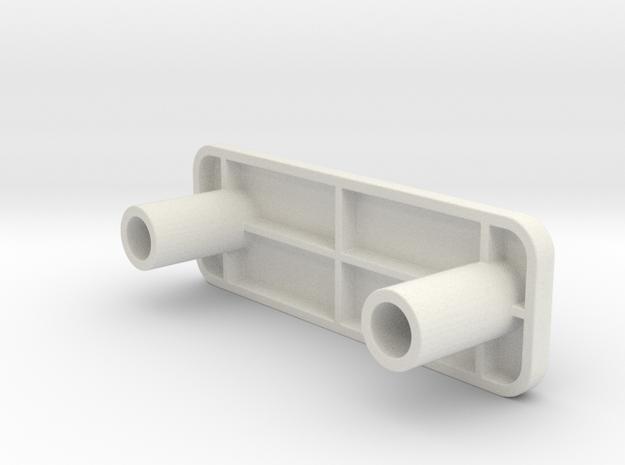 Ikea 102372 and 148226 in White Natural Versatile Plastic