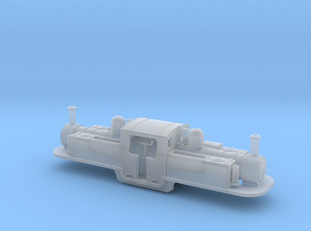 Festiniog Railway Double Fairlie 4mm in Smooth Fine Detail Plastic