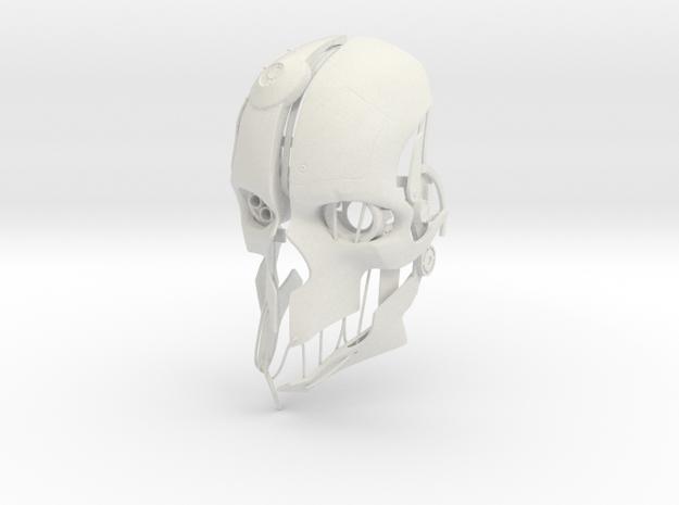 Corvo Mask V2 in White Strong & Flexible