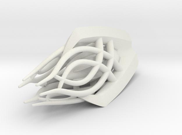 Gandalf the White - Staff Top in White Natural Versatile Plastic
