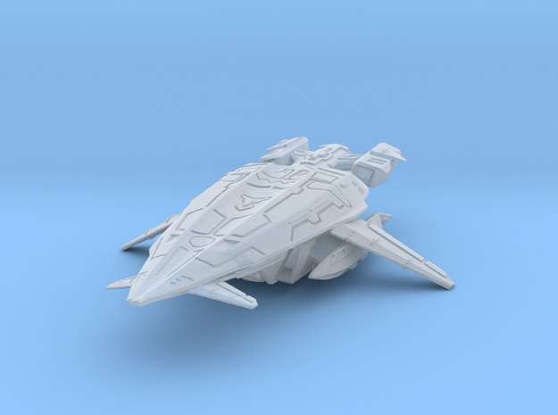 Shadow_Marshal_Ship in Smooth Fine Detail Plastic