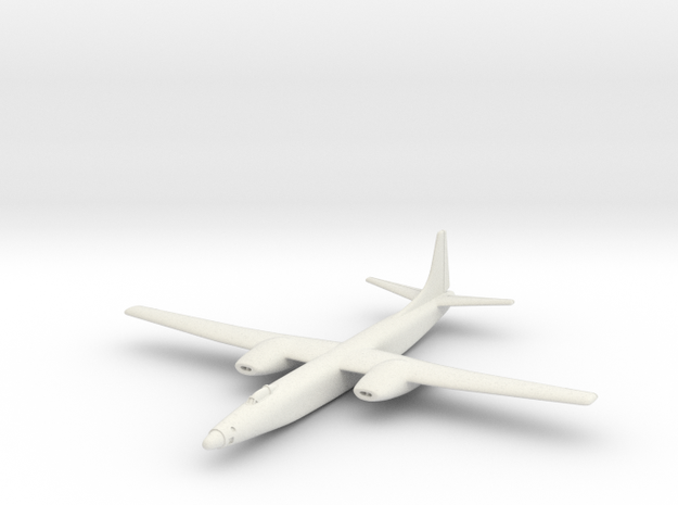 Convair XB-46 6 mm 1/285 in White Natural Versatile Plastic