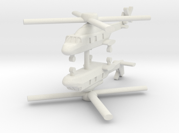 1/250 NH-90 TTH / NFH (x2) in White Natural Versatile Plastic