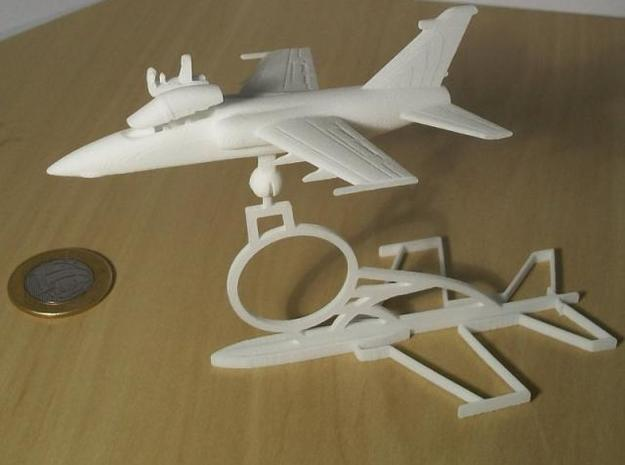 001A AMX in Flight 1/144 in White Natural Versatile Plastic