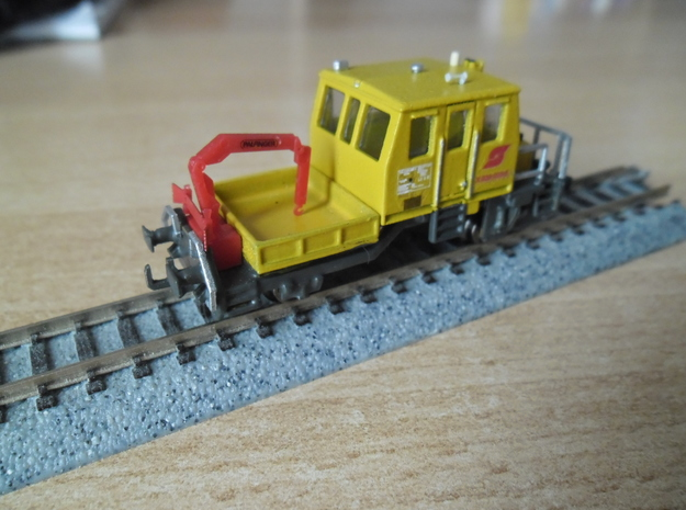 ÖBB X 629 in Spur N in Smooth Fine Detail Plastic