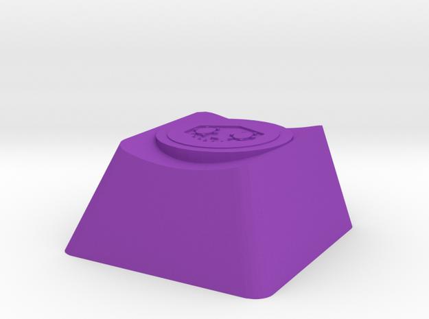 Overwatch Somba EMP Cherry MX Key in Purple Processed Versatile Plastic
