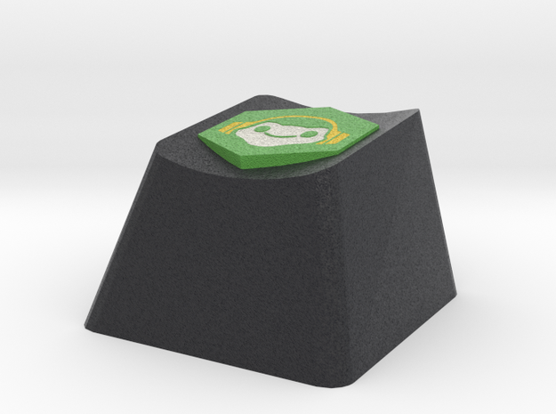 Overwatch Lucio Sound Barrier Cherry MX Keycap in Full Color Sandstone