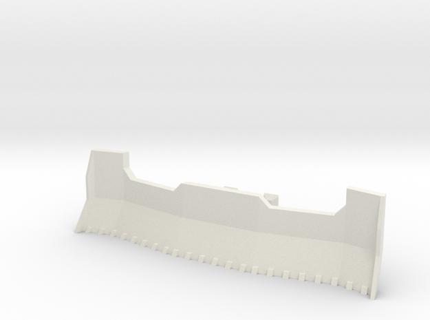 Imperial Army Tank Accessories Dozer No2 in White Natural Versatile Plastic