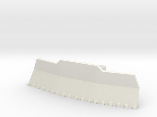 Imperial Army Tank Accessories Dozer No3 in White Natural Versatile Plastic