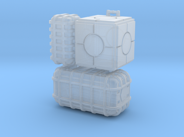 SW crates 1:144 scale in Smooth Fine Detail Plastic