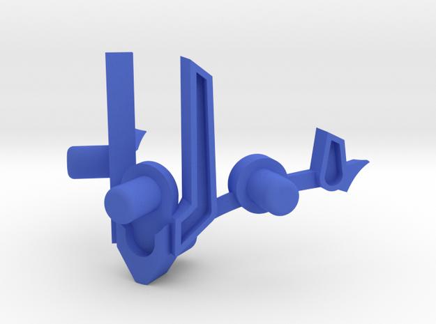 Valati Extension in Blue Processed Versatile Plastic