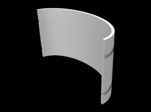 Mekki-Maru Scabbard Collar 3d printed Mekki Collar Back