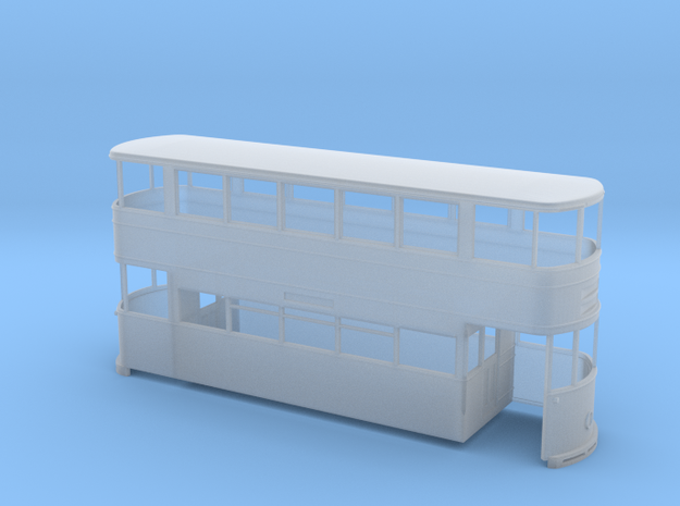 Sheffield Standard Tram Rebuild O-scale 7mm in Smooth Fine Detail Plastic
