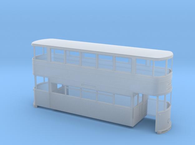 Sheffield Standard Tram Rebuilt 7mm in Smooth Fine Detail Plastic