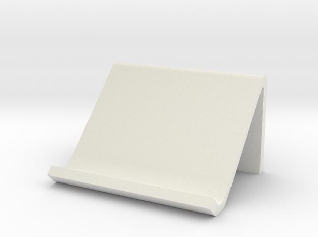 Tablet holder in White Strong & Flexible