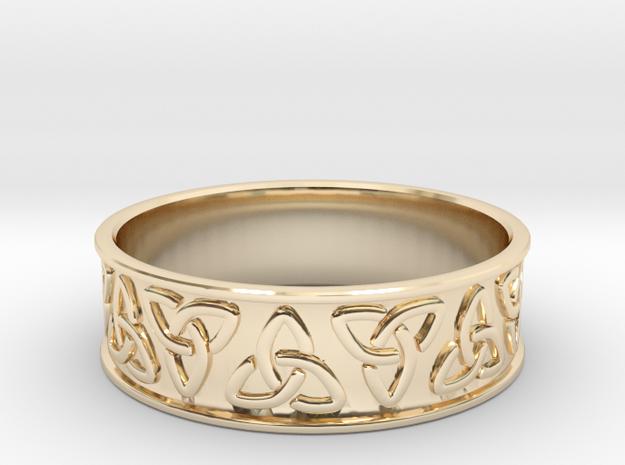 Celtic Ring in 14K Gold